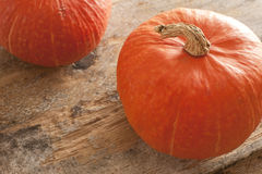 Top down view on pumpkins Stock Image