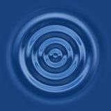 Top down waterrimpeling Royalty-vrije Stock Afbeelding