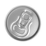 Top of drink can Stock Image