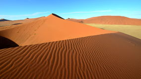 Top of Dune 45,Namib desert in Namibia Stock Images
