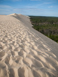 On top of Dune of Pyla, Arcachon, France during Royalty Free Stock Photo