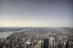 Top Of Empire State Building Royalty Free Stock Image