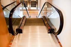 Top of an escalator Royalty Free Stock Image