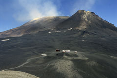 Top of the Etna volcano Royalty Free Stock Photos