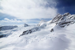 Top of Europe. A photo taken at the the top of europe Royalty Free Stock Images