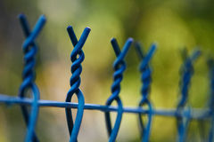 Top of the fence Stock Photography