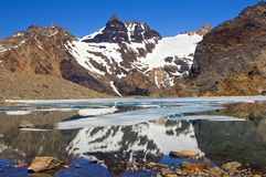 Top of Fitz Roy, Patagonia Royalty Free Stock Image