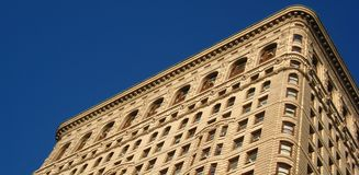Top of the Flatiron building Stock Photo