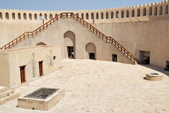Top of fort Nizwa Royalty Free Stock Image