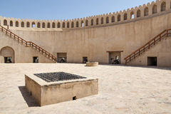 Top of fort Nizwa Royalty Free Stock Images