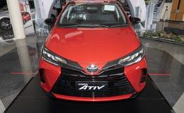 Top Front Toyota Yaris Ativ 2020 Car in Car Showroom