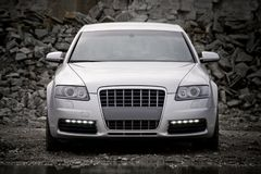 Free Top-front View Of A Luxury Car Stock Photo - 6108780