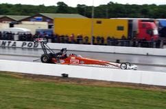 Top fuel dragster Stock Photo