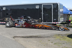 Top fuel dragster Royalty Free Stock Images