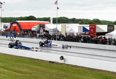 Top fuel dragsters Royalty Free Stock Photos