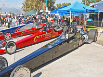 Top Fuel Dragsters Royalty Free Stock Image