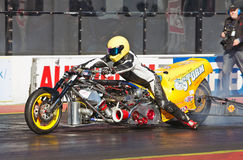 Top fueller drag bike Royalty Free Stock Images