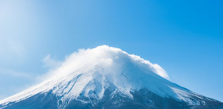 Top of Fuji mountain. Japan. Stock Photography