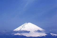 The top of Fuji mountain royalty free stock image