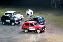 Top Gear. Show Top Gear 29.03.2014 in Saint-Petersburg Royalty Free Stock Photos