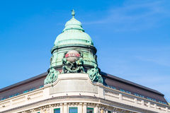 Top of Generali building in Vienna, Austria Royalty Free Stock Photo