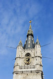 Top of the Ghent Belfry. Stock Photo