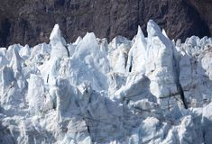 Alaska`s Glacier Top Royalty Free Stock Image