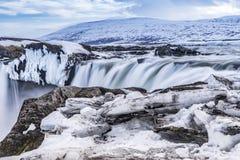 Top of Godafoss waterfall