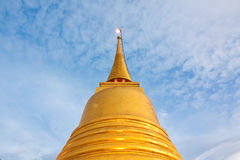 Top of golden pagoda Stock Photos