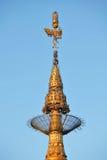 Top of Golden Rock (Kyaiktiyo) pagoda, Myanmar Royalty Free Stock Photography