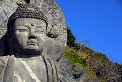 Top of Great Buddha and sky Royalty Free Stock Images