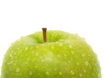 Top of green apple Royalty Free Stock Photo