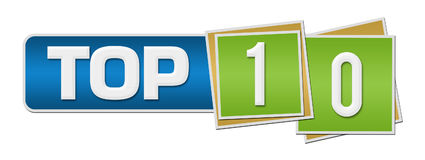 Top 10 Green Blue Squares Bar Stock Images