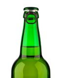 Top of green bottle Stock Photography