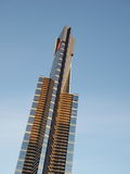 Top half of the 975 ft high Eureka tower in sun Royalty Free Stock Photo