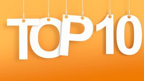 Top 10 hanging Letters Stock Photos