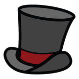 Top hat royalty free illustration