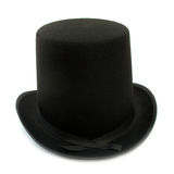 Top hat. A top hat, silk hat, cylinder hat, chimney pot hat or stove pipe hat (sometimes also known by the nickname topper) is a tall, flat-crowned, broad Stock Images