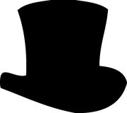 Top Hat. Illustration of a magician top hat Royalty Free Stock Photography