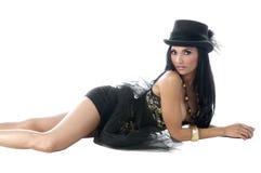 Top Hat Corsett Royalty Free Stock Photography