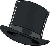 Top Hat Fashion Style Illustration Royalty Free Stock Photo