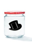Top Hat in Jelly Jar Royalty Free Stock Photos