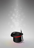 Top hat magic Stock Images