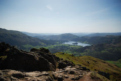 The top of Helm Crag Stock Images