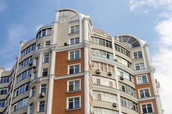 Top of high-rise residential building Stock Image