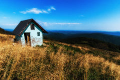 On the top of the hill Royalty Free Stock Images