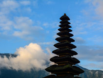 Top of Hindu temple in Bali, Indonesia Stock Images