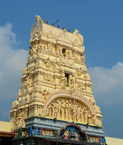 Top of Hindu temple in Penang, Malaysia Royalty Free Stock Photography