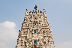 Top of a Hindu temple Stock Photo