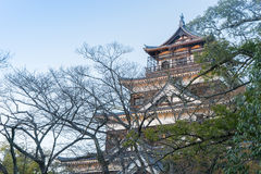 The top of Hiroshima Castle Stock Photography